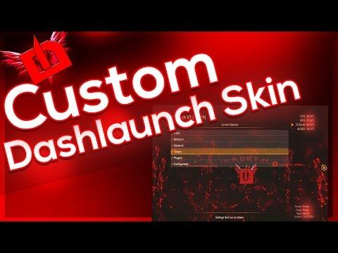 (Modded Tutorial) How to Make Custom Dashlaunch Skin RGH/JTAG