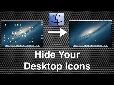 How to Hide Desktop Icons in Windows 10 New Trick 2017