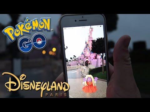 El sitio más chetado del mundo!? ¡Pokémon GO en DisneyLand París! [Keibron]