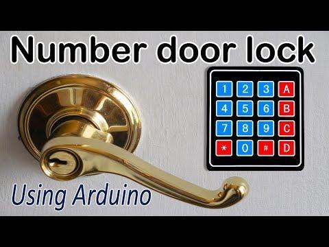 Password based door lock | using arduino | How to build