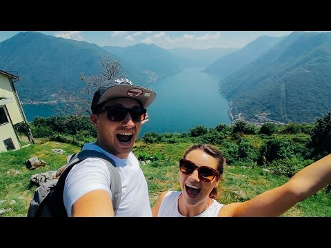 BEST VIEW IN LAKE COMO   #2 - Italy   Saunders Says Travel Vlog