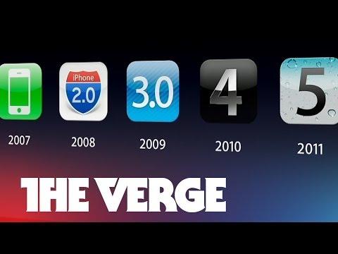 A visual history of iOS