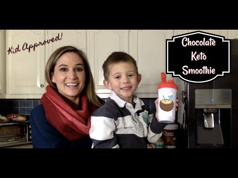 Chocolate Keto Smoothie | LCHF & Kid Approved!