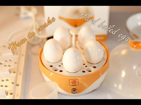 How  To Use Egg Boiler/Egg Cooker to make hard boiled eggs
