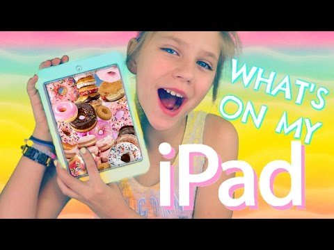 What's on my iPad mini? Games and apps Donut Dazzle, Cookie Jam and more hopes vlogs
