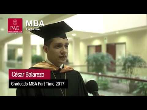MBA Part Time - ¿Por qué el PAD?