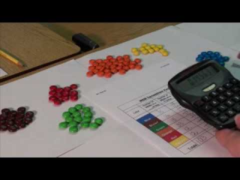 Fractions, Decimals, and Percents with M&Ms