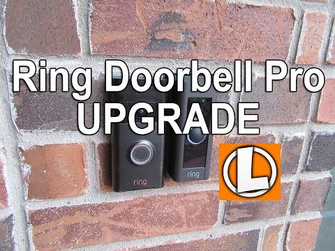 Ring Video Doorbell Pro Upgrade From The Original Ring Doorbell - Improved Motion Detection