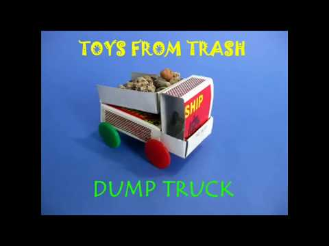 How to Make Truck from A Matchbox