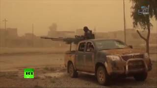 ISIS releases video of its fighters allegedly advancing through streets of Mosul