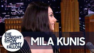 Mila Kunis Spent Her Honeymoon in an RV Park with Ashton Kutcher