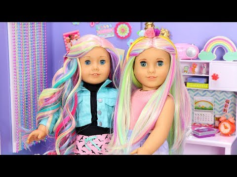 American Girl Doll Unicorn Wigs