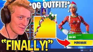 Download TFUE Reacts and BUYS *OG OUTFIT* NOG OPS and CANDY AXE! - Fortnite FUNNY Moments Video