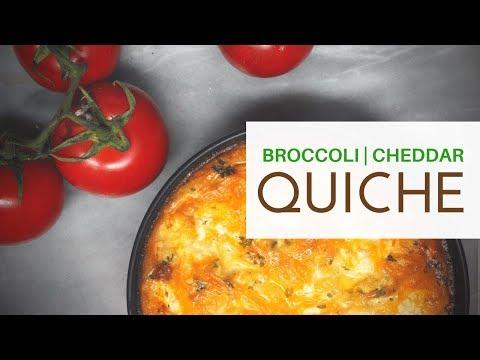 **KETO** Broccoli & Cheddar Quiche   Gluten + Grain Free + Nut Free