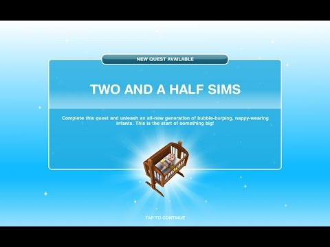 Ep.5 Two And Half Sims. Sims Freeplay.