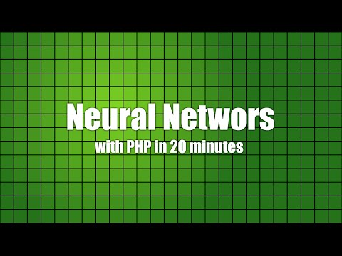 Neural Networks with PHP