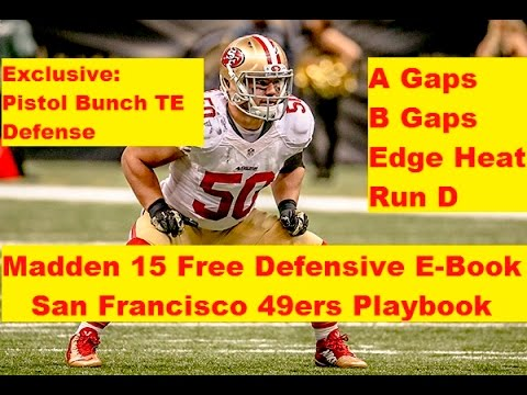 FREE FULL DEFENSIVE E-BOOK - 49ers Playbook - Madden 15