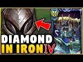 Download I TOOK MY NASUS INTO IRON FOR THE FIRST TIME! (DIAMOND NASUS VS IRON 4) - League of Legends MP3,3GP,MP4