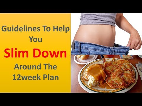 Guidelines to help you slim down around the 12week plan.|Don't skip breakfast.