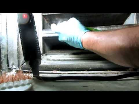 hvac-how to clean a  A.C. Acoil in place
