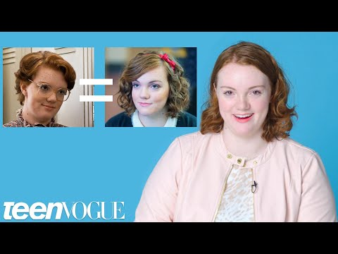 Shannon Purser (Barb) Reacts to Riverdale & Stranger Things Fan Theories | Teen Vogue