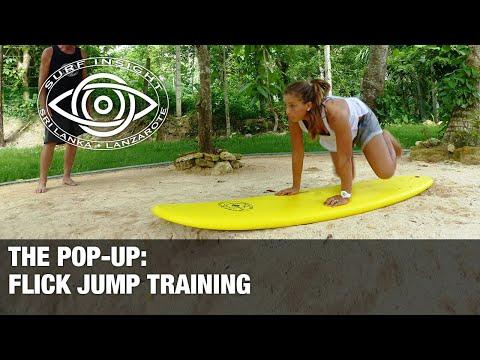 Flick Jump, training