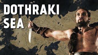 Dothraki Sea - Map Detailed (Game of Thrones)