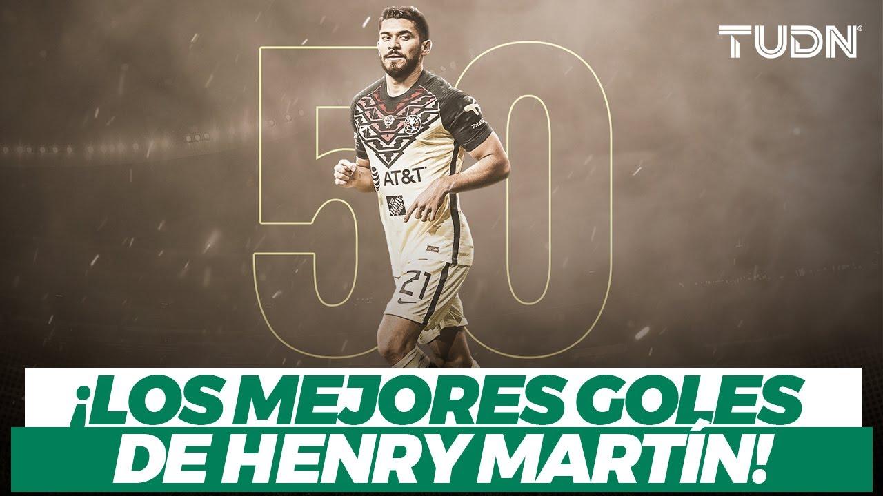 ¡50 GOLES en el América! Estos son los grandes goles de la 'Bomba' Henry Martín I TUDN
