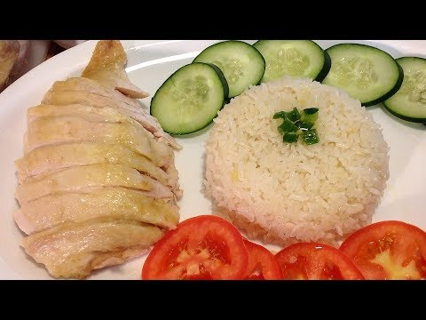 How To Make Hainanese Chicken Rice-Com Ga Hai Nam-Vietnamese Recipes