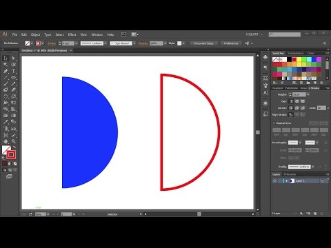 How to Draw a Half Circle in Adobe Illustrator_2