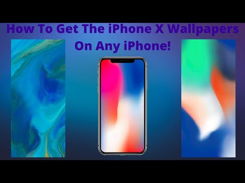 How To Get The Dynamic Live iPhone X Wallpapers on any iPhone or Device (iOS) iPhone iPad iPod!!!