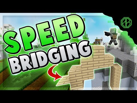 SPEED BRIDGING To Get The WIN! ( Hypixel Skywars FUNNY MOMENTS )