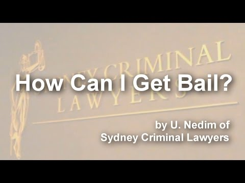 How Can I Get Bail?