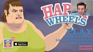 HARPOON IN MY BUTT!! | Happy Wheels