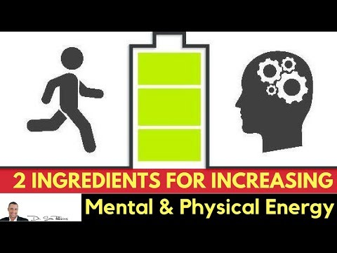 🔋2 Proven Ingredients for Increasing ATP Mental & Physical energy