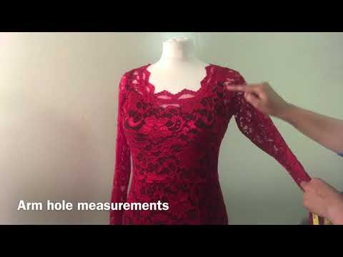 How to take body measurements to draft your own clothing patterns at home