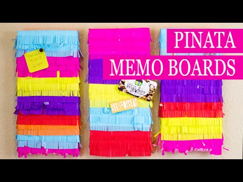 Pinata Bulletin Boards   Smoothfoam