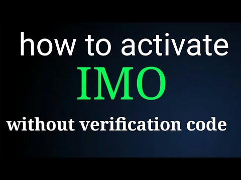 How to active IMO without cod