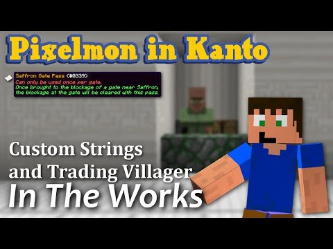 Pixelmon Preview: Custom Item Strings and Apricorn Trader for 1.7