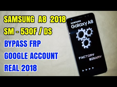Samsung Galaxy A8 SM-A530F/DS 2018 Nougat 7.1 Bypass Frp Remove Google Account Real 100% Work