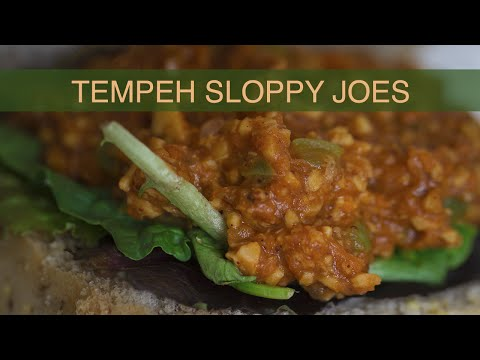 Tempeh Sloppy Joes (Gluten-Free)