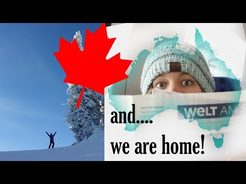 WE ARE HOME | Canada to Australia | Travel