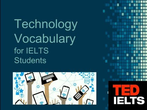 Technology Vocabulary for ESL and IELTS