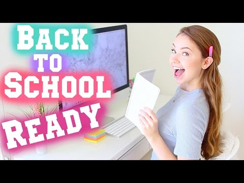 Get Back to School Ready: Organization, DIYs, & Beauty Inspiration! | Meredith Foster