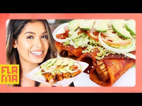 Chicken Enchiladas Made Vegan
