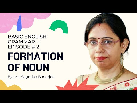 Formation of  Noun