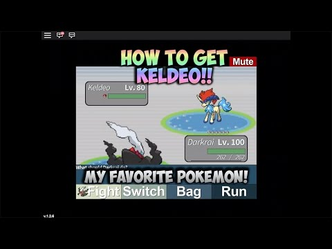Roblox Project Pokemon: How to get Keldeo! New Intro!