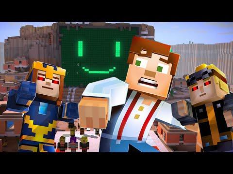 Minecraft Story Mode Episode 7: Lukas & Petra Try to Kill Jesse?!