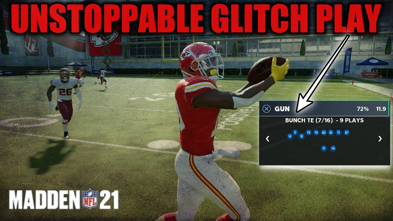 NO DEFENSE CAN STOP THIS GLITCH PLAY! BECOME UNSTOPPABLE ON OFFENSE! BEST MADDEN 21 TIPS