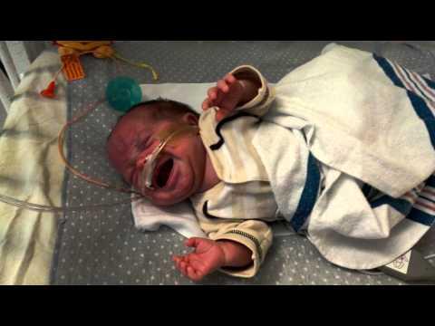 Jackson's sad Preemie cry